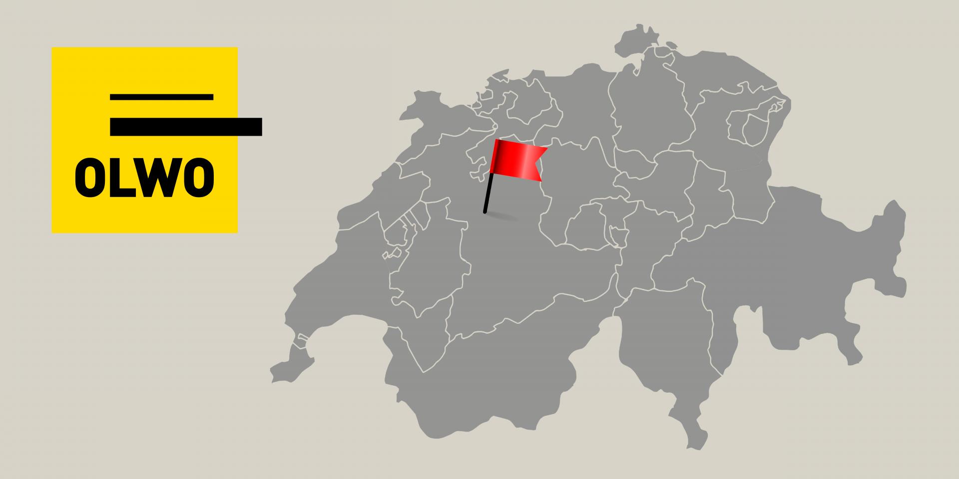 OLWO Logo und Karte