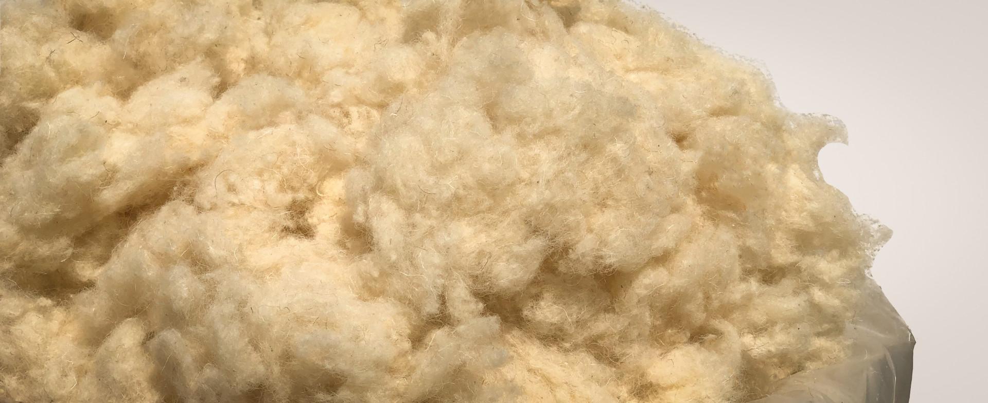 laine à repriser