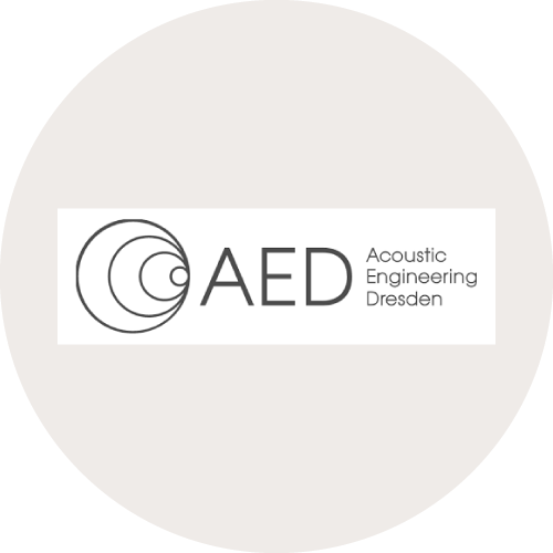 Logo AED Accoustic Engineering Dresden