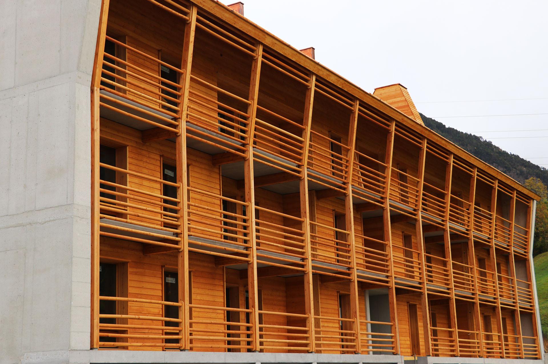 Balkon Gemeinschaftshaus St. Ursula